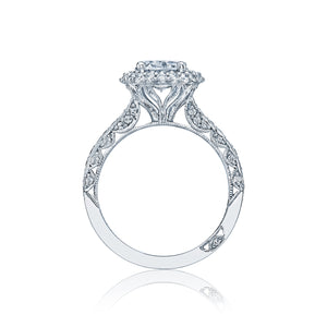 Tacori Blooming Beauties Oval Diamond Engagement Ring (0.78 CTW)