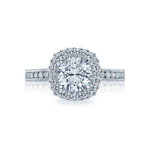 Load image into Gallery viewer, Tacori Blooming Beauties Round Diamond Engagement Ring (0.67 CTW)