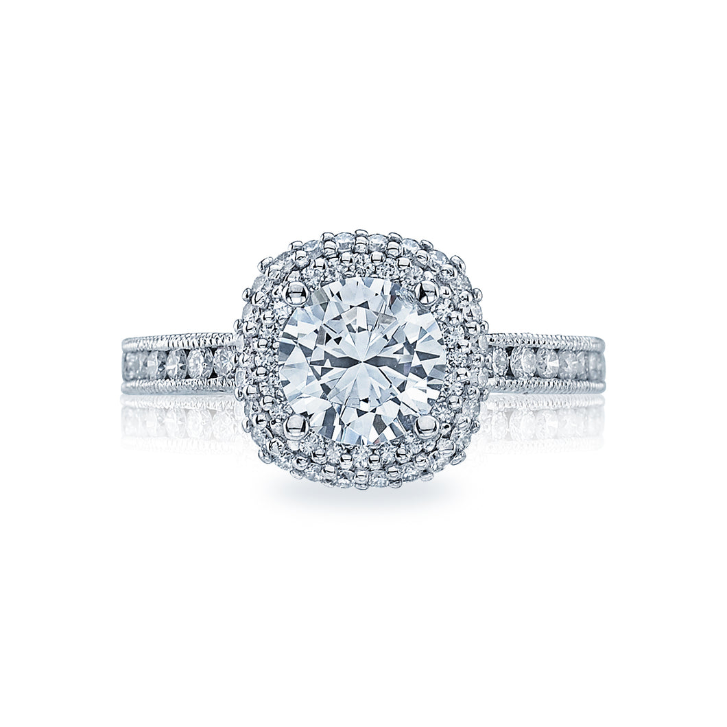 Tacori Blooming Beauties Round Diamond Engagement Ring (0.67 CTW)