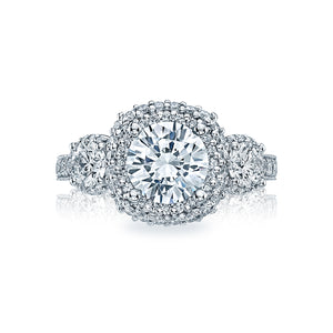 Tacori Blooming Beauties Round Diamond Engagement Ring (1.27 CTW)