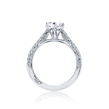 Load image into Gallery viewer, Tacori Petite Crescent Marquise Diamond Engagement Ring (0.43 CTW)