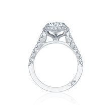 Load image into Gallery viewer, Tacori Petite Crescent Round Diamond Engagement Ring (0.78 CTW)