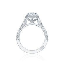 Load image into Gallery viewer, Tacori Petite Crescent Round Diamond Engagement Ring (0.55 CTW)