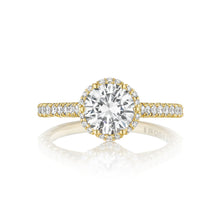Load image into Gallery viewer, Tacori Petite Crescent Round Diamond Engagement Ring (0.5 CTW)