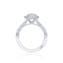 Load image into Gallery viewer, Tacori Petite Crescent Round Diamond Engagement Ring (0.6 CTW)