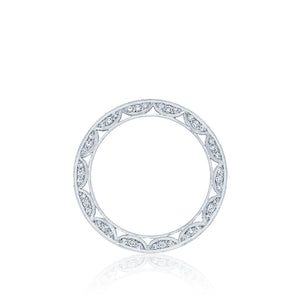 Tacori Classic Crescent Diamond Wedding Band (0.93 CTW)