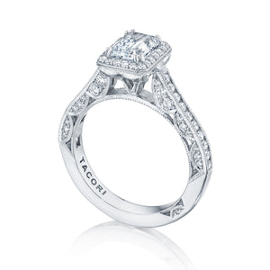 Tacori Classic Crescent  Engagement Ring (0.69 CTW)
