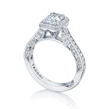 Load image into Gallery viewer, Tacori Classic Crescent  Engagement Ring (0.69 CTW)