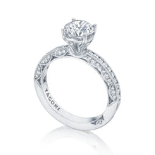 Load image into Gallery viewer, Tacori Classic Crescent Round Diamond Engagement Ring (0.41 CTW)