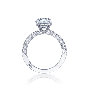 Tacori Petite Crescent Round Diamond Engagement Ring (0.35 CTW)