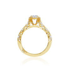 Load image into Gallery viewer, Tacori Petite Crescent Oval Diamond Engagement Ring (0.5 CTW)