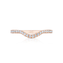 Load image into Gallery viewer, Tacori Petite Crescent Diamond Wedding Band (0.24 CTW)