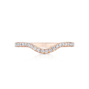 Tacori Petite Crescent Diamond Wedding Band (0.24 CTW)