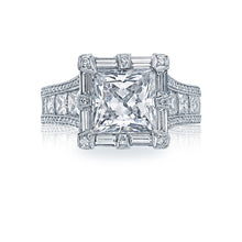 Load image into Gallery viewer, Tacori RoyalT Princess Diamond Engagement Ring (4.05 CTW)