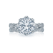 Load image into Gallery viewer, Tacori RoyalT Round Diamond Engagement Ring (1.1 CTW)