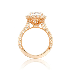 Tacori RoyalT Round Diamond Engagement Ring (1.4 CTW)
