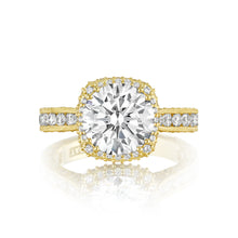 Load image into Gallery viewer, Tacori RoyalT Round Diamond Engagement Ring (1.28 CTW)