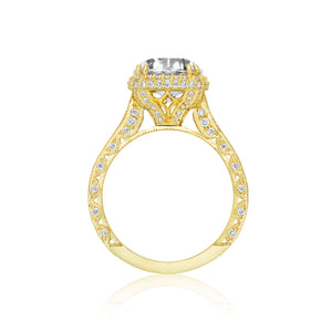 Tacori RoyalT Round Diamond Engagement Ring (1.28 CTW)