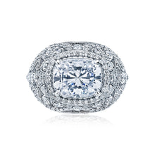 Load image into Gallery viewer, Tacori RoyalT Cushion Diamond Engagement Ring (1.47 CTW)