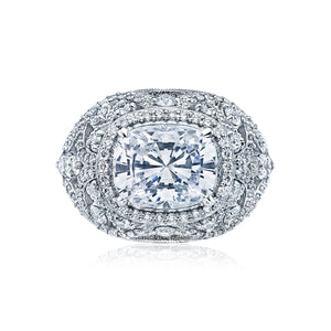 Tacori RoyalT Cushion Diamond Engagement Ring (1.47 CTW)
