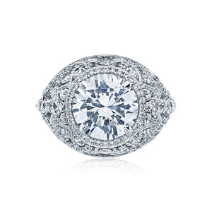 Tacori RoyalT Round Diamond Engagement Ring (1.45 CTW)