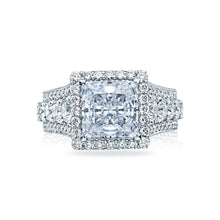 Load image into Gallery viewer, Tacori RoyalT Princess Diamond Engagement Ring (2.63 CTW)