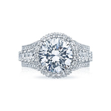 Load image into Gallery viewer, Tacori RoyalT Round Diamond Engagement Ring (2.48 CTW)