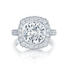 Load image into Gallery viewer, Tacori RoyalT Round Diamond Engagement Ring (1.75 CTW)