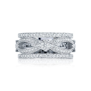 Tacori Adoration Diamond Wedding Band (0.8 CTW)