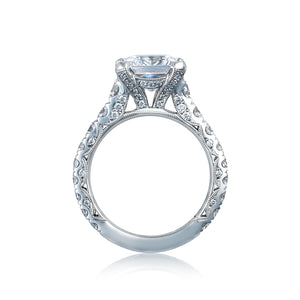 Tacori RoyalT Princess Diamond Engagement Ring (1.65 CTW)