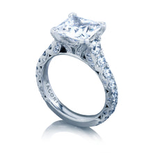 Load image into Gallery viewer, Tacori RoyalT Princess Diamond Engagement Ring (1.65 CTW)