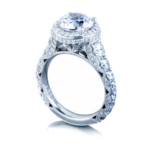 Load image into Gallery viewer, Tacori RoyalT Round Diamond Engagement Ring (1.92 CTW)