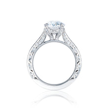 Load image into Gallery viewer, Tacori RoyalT Oval Diamond Engagement Ring (0.75 CTW)