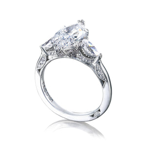 Tacori RoyalT Marquise Diamond Engagement Ring (0.84 CTW)
