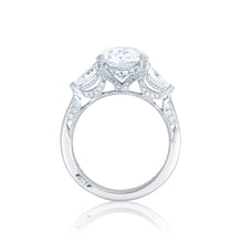 Load image into Gallery viewer, Tacori RoyalT Oval Diamond Engagement Ring (0.84 CTW)