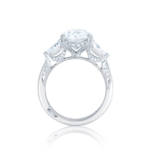 Tacori RoyalT Oval Diamond Engagement Ring (0.84 CTW)