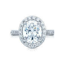 Load image into Gallery viewer, Tacori RoyalT Oval Diamond Engagement Ring (1.26 CTW)