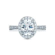 Load image into Gallery viewer, Tacori RoyalT Oval Diamond Engagement Ring (0.96 CTW)