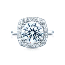 Load image into Gallery viewer, Tacori RoyalT Round Diamond Engagement Ring (0.82 CTW)