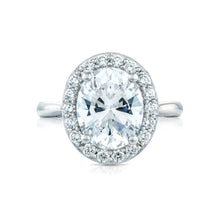 Load image into Gallery viewer, Tacori RoyalT Oval Diamond Engagement Ring (0.77 CTW)