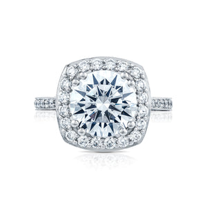 Tacori RoyalT Round Diamond Engagement Ring (1 CTW)