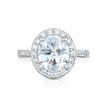 Load image into Gallery viewer, Tacori RoyalT Oval Diamond Engagement Ring (0.92 CTW)