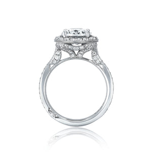 Tacori RoyalT Oval Diamond Engagement Ring (0.92 CTW)