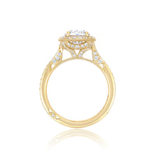 Load image into Gallery viewer, Tacori RoyalT Oval Diamond Engagement Ring (0.7 CTW)