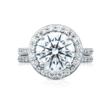 Load image into Gallery viewer, Tacori RoyalT Round Diamond Engagement Ring (0.97 CTW)