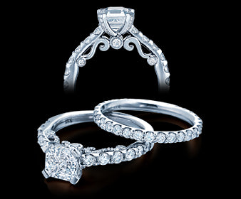 Verragio Insignia Round Diamond Engagement Ring (0.75 CTW)