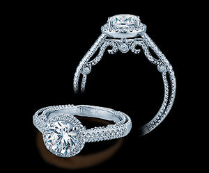 Verragio Insignia Round Diamond Engagement Ring (0.40 CTW)