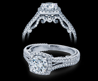 Verragio Insignia Round Diamond Engagement Ring (0.45 CTW)