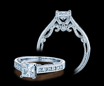 Verragio Insignia Princess Diamond Engagement Ring (0.75 CTW)