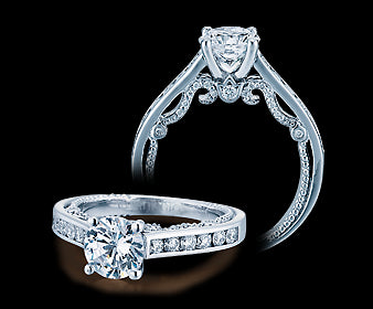 Verragio Insignia Round Diamond Engagement Ring (0.55 CTW)
